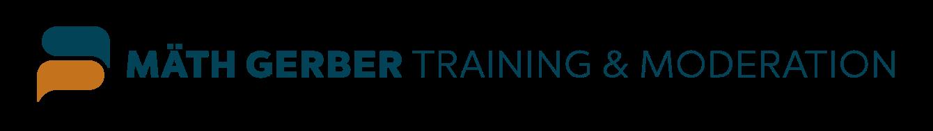 Logo Mäth Gerber |Training & Moderation